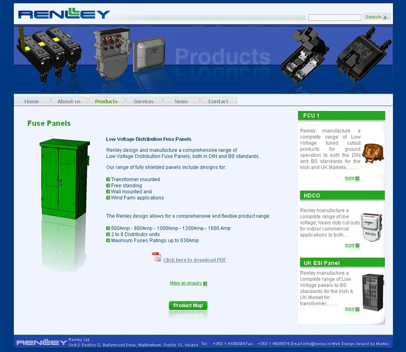Renley Dublin Website Design
