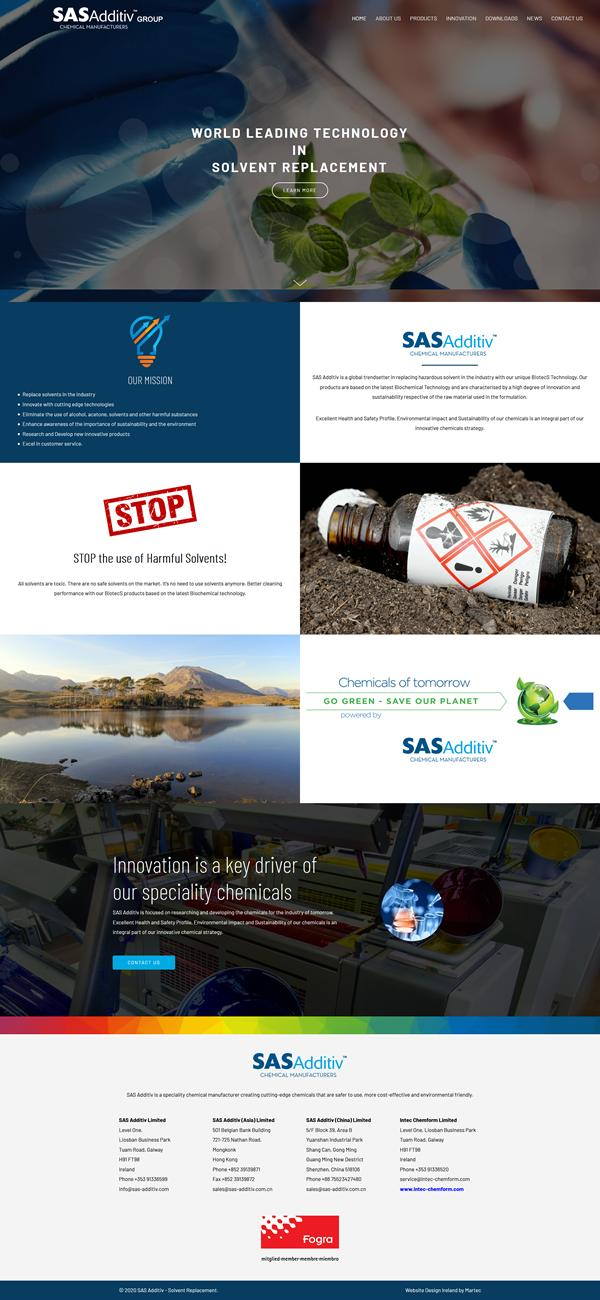 SAS - Additiv Web Design Galway