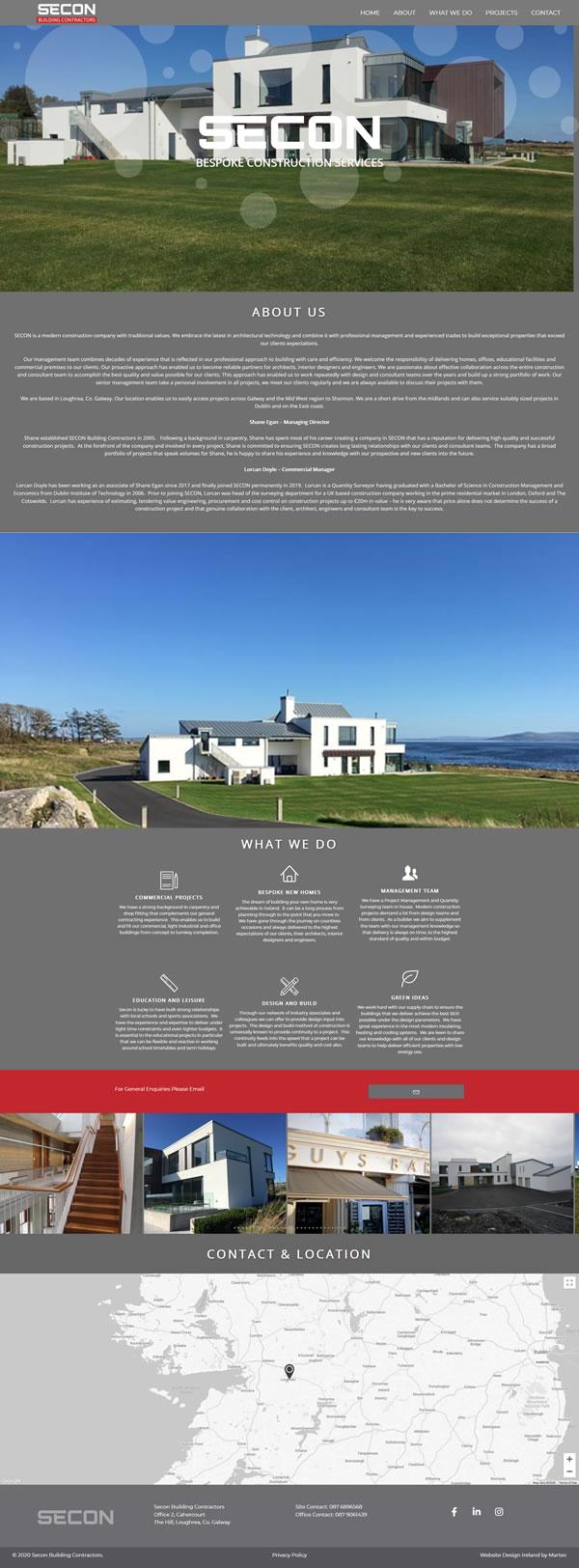 Secon Building Contractors – Builders Ireland