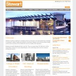 Stewart Builders Galway Website Design
