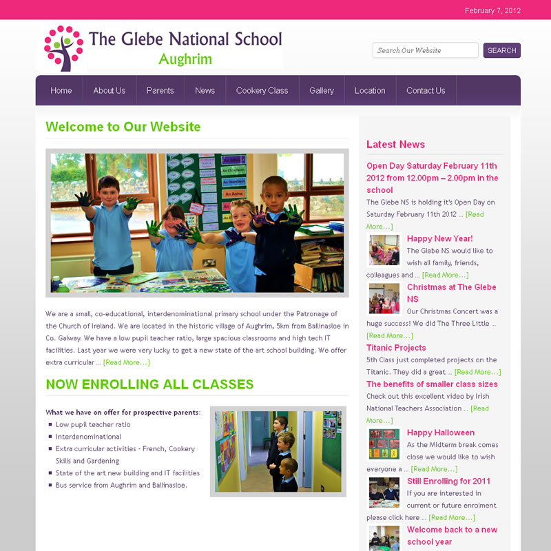 The glebe national school