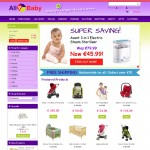 All 4 Baby Galway Ecommerce Web Site Design