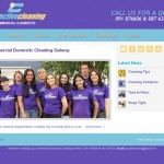 Corporate Cleaning Website Design Galway