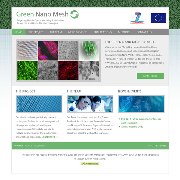 green nano mesh nui galway website ireland